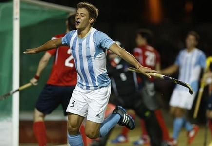 Hockey sobre césped masculino – El equipo Argentino se llevo el ORO ante el rival local