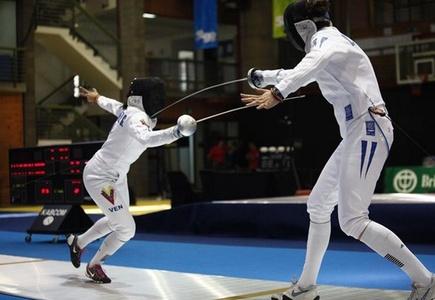 Argentina se quedó con el Bronce en la modalidad de Espada en Esgrima
