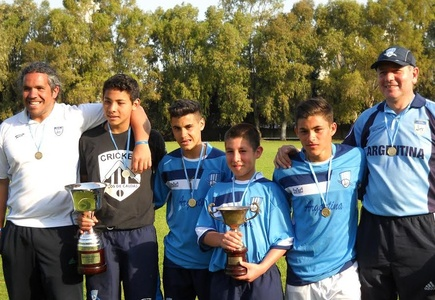ARGENTINA, de nuevo Campeones Sudamericanos 2014 de Cricket