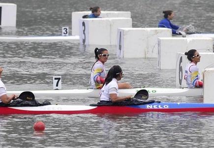 Argentina, Brasil y Colombia dominaron en Canotaje femenino
