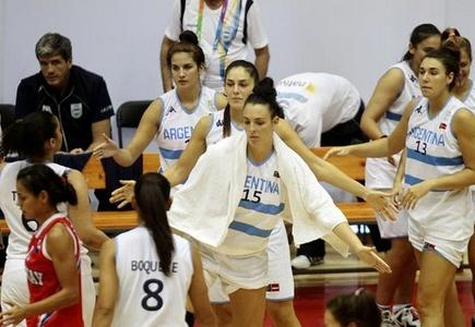Basquetbol Femenino: Con marcador de tres cifras Argentina apabulló a Bolivia