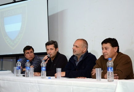 Víctor Santa María presentó las políticas de la Confederación Argentina de Deportes