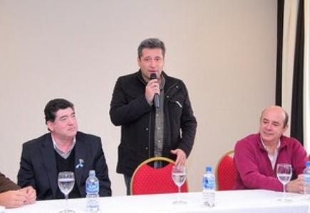 Víctor Santa María presento, este sábado 24 de mayo, la Confederación Correntina de Deportes