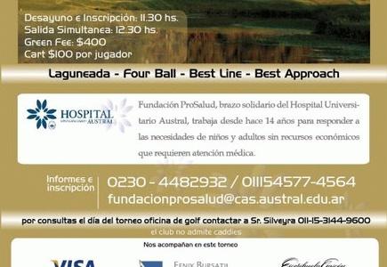 Finaliza el Torneo de Golf Circuito ProSalud en Pilará