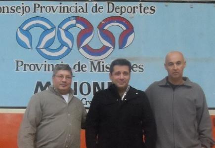 Víctor Santa María presentó la Confederación Misionera de Deportes