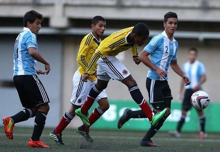 Argentina y Colombia clasifican a semifinales de Fútbol masculino Sub 17