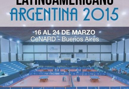 Se viene el Latinoamericano de Tenis de Mesa