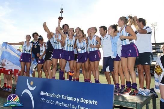 Hockey: Argentina, Campeón del Panamericano Juvenil