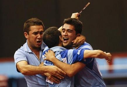 Tenis de mesa: Argentina se toma revancha y gana oro en varones