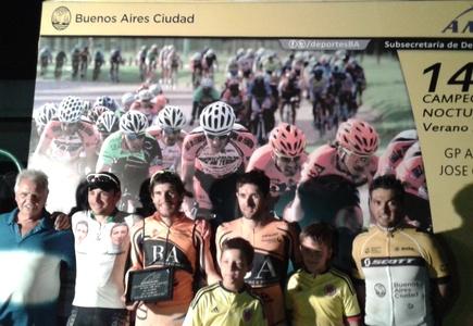 Ciclismo – Julián Gaday se quedó con la primera fecha del 14º Campeonato Nocturno de Verano