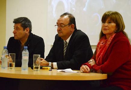Víctor Santa María presentó la Confederación Santiagueña de Deportes