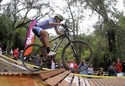 Agustina Apaza se quedó con el oro en el mountainbike femenino