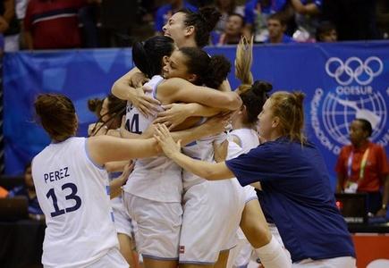 Argentina se llevó el oro del básquetbol femenino en infartante partido