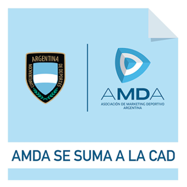 AMDA se suma a la Confederación Argentina de Deportes