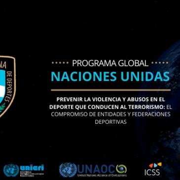 La Confederación Argentina de Deportes tendrá representación en el evento de las Naciones Unidas