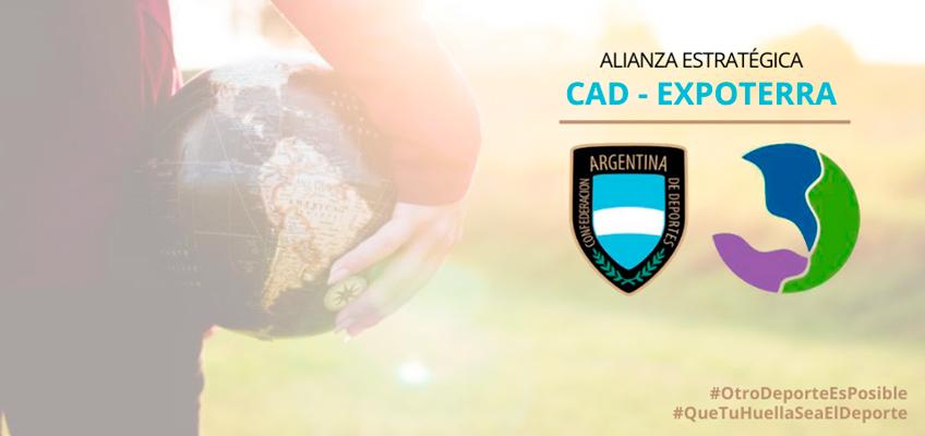 Alianza estratégica entre la CAD y la Fundación Expoterra