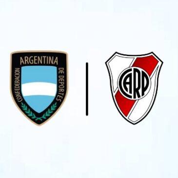 Encuentro online entre la Confederación Argentina de Deportes y River Plate