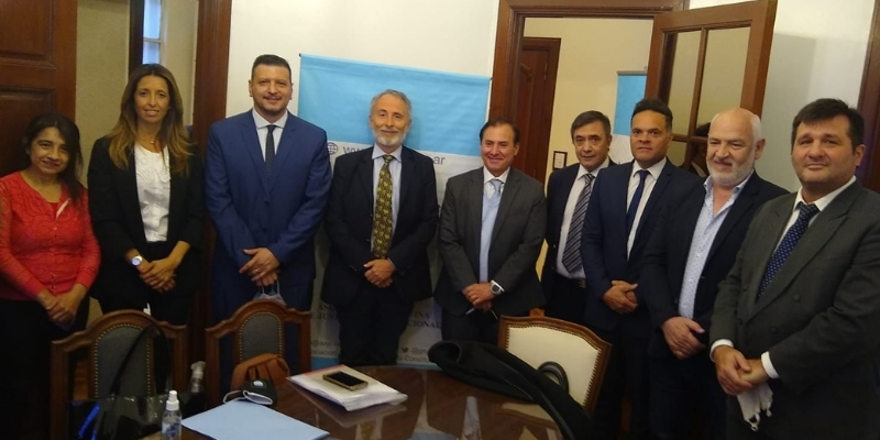 Firma de convenio entre la CAD y la Asociación Argentina de Justicia Constitucional